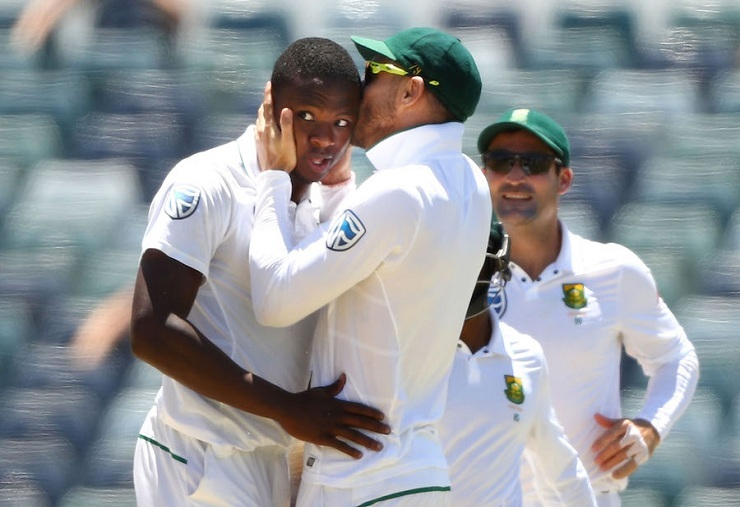 Rabada has been South Africa's strike bowler in the series. ( AFP)